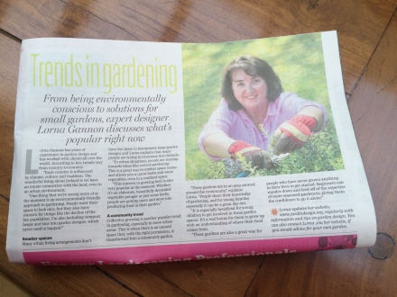 "Garden trends in the ""Independent""."