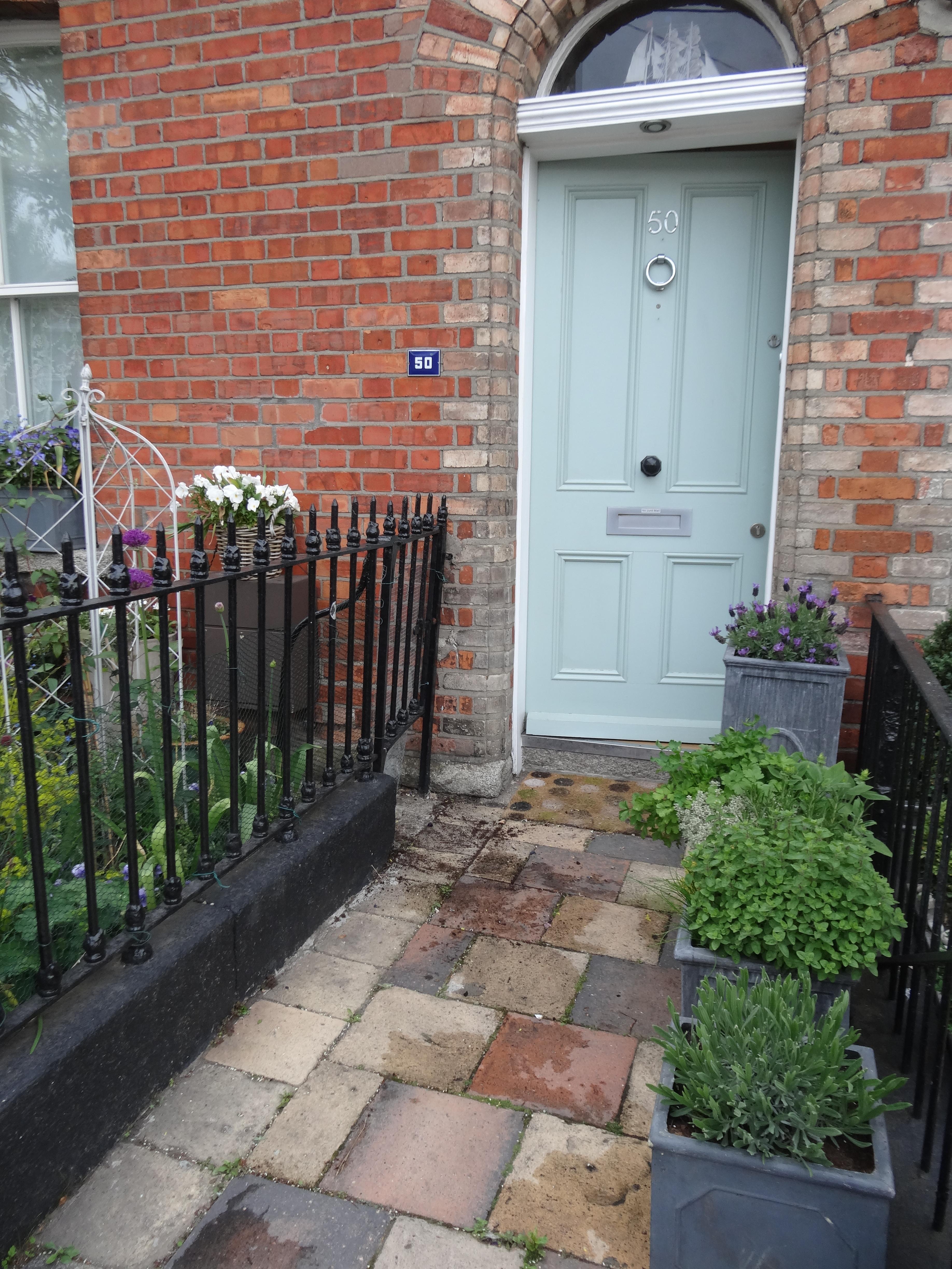 Marvellous Farrow And Ball Chappell Green Front Door Contemporary