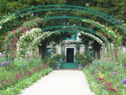 French gardens Giverney