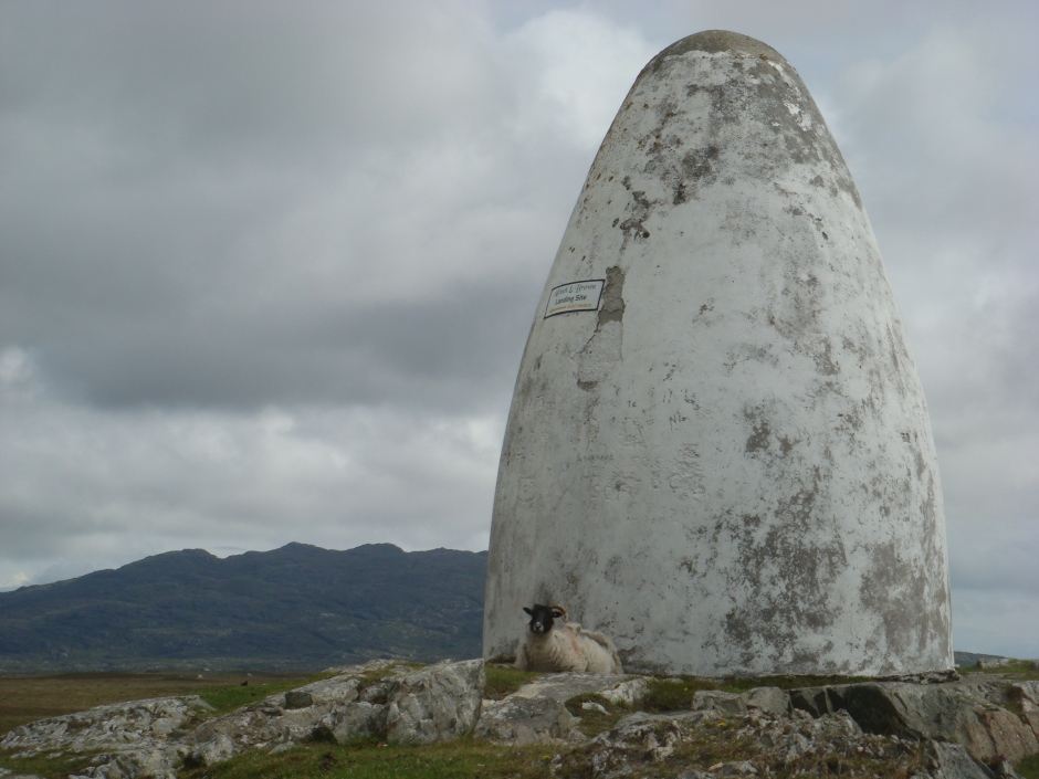 This lonely spot in Connemara marks where Marconi made his first transAtlantic transmission