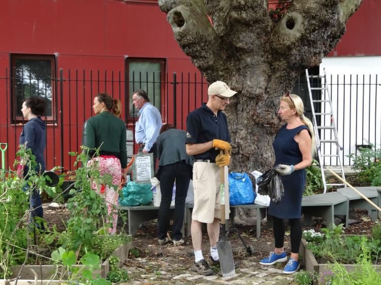 Saturdays at Broadstone Community Garden