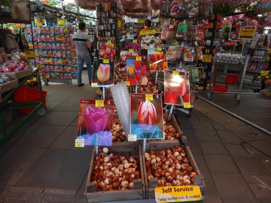 Amsterdam Flower Market