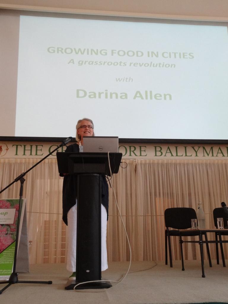 Darina Allen at the Ballymaloe Garden Festival