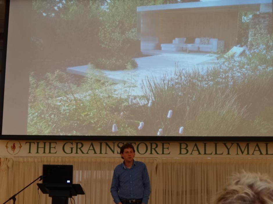 Gerard Mullen's talk in The Grainstore