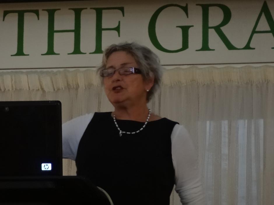 Helen Dillon's entertaining talk.