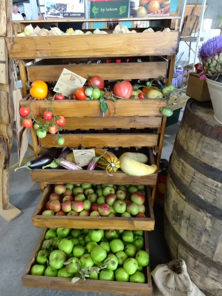 Apple storage rack available from Brown Envelope Seeds