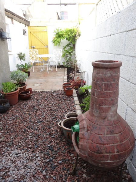 Transformed into an outdoor room