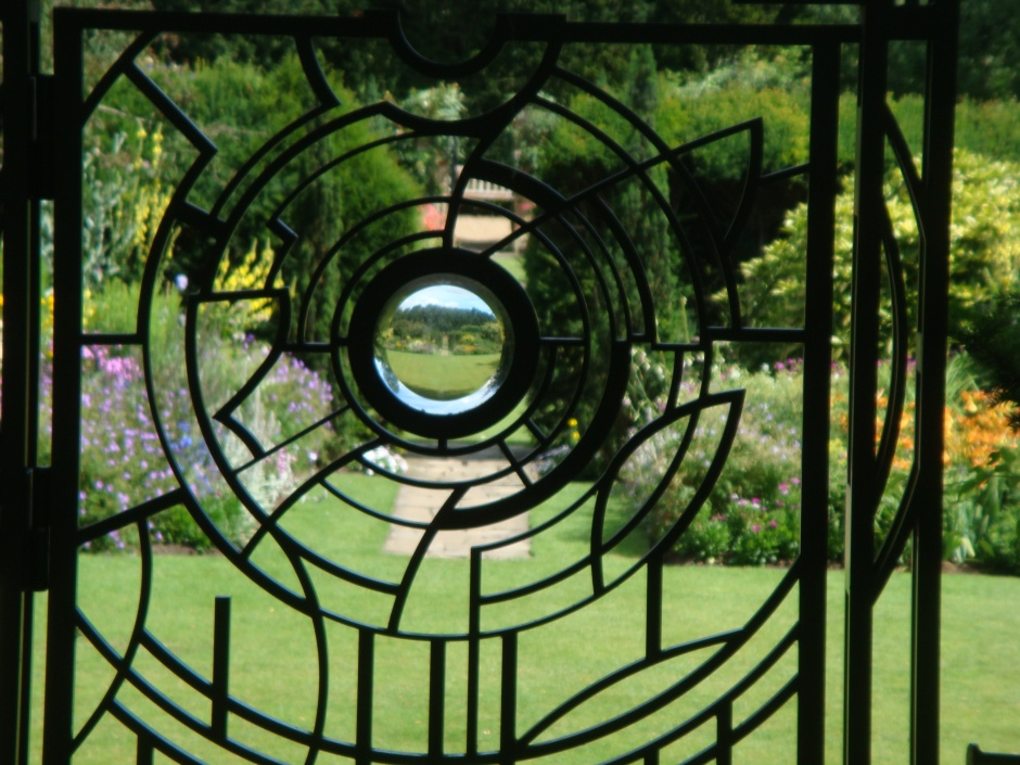 Even a decorative gate designed for your garden gives lots of character