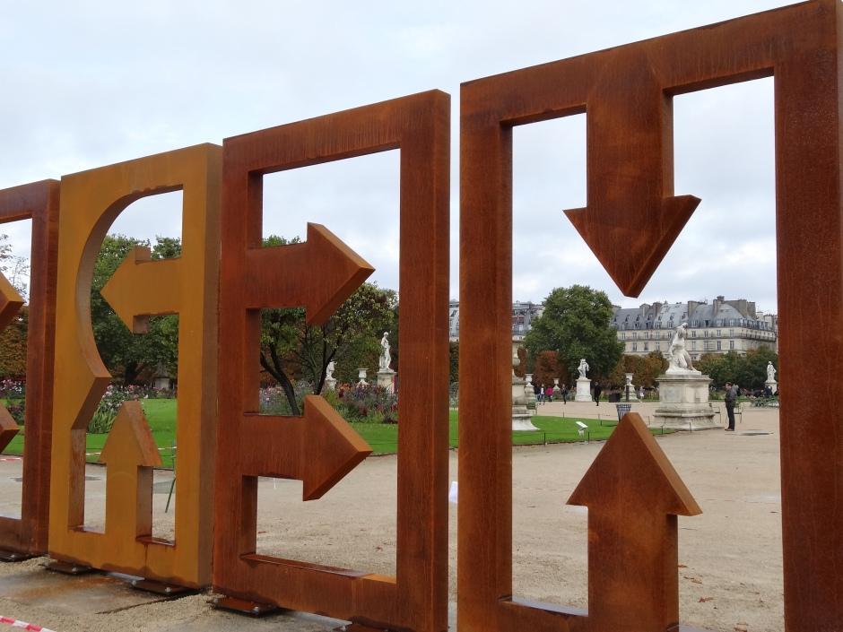 Jean Dupuy Contemporary Art Fair, Tuileries Garden 2013