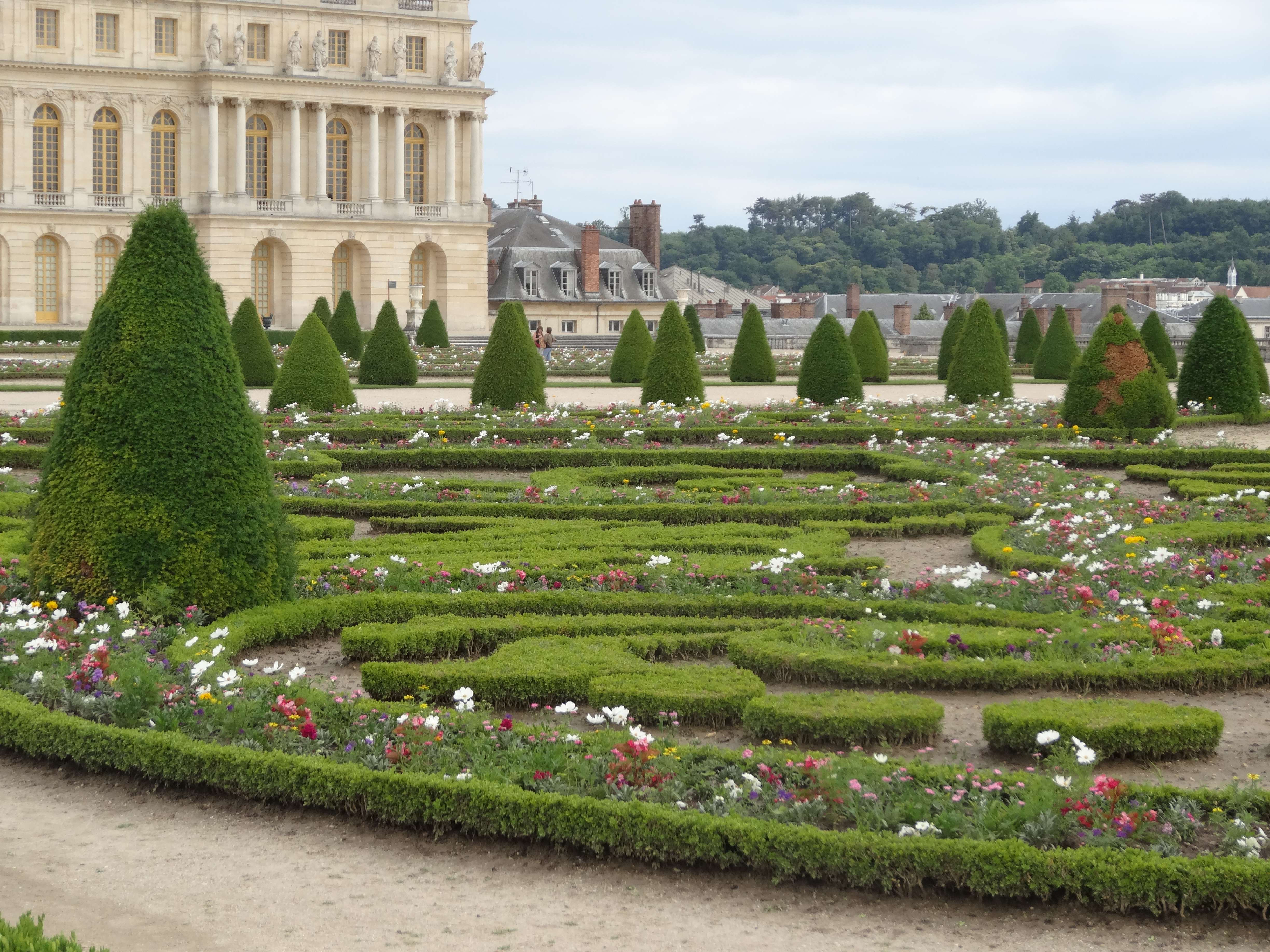 How designers are using topiary knots and parterres jardin for French garden