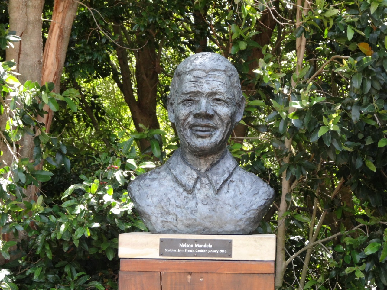 Remembering nelson mandela and south africa jardin for Jardin nelson mandela