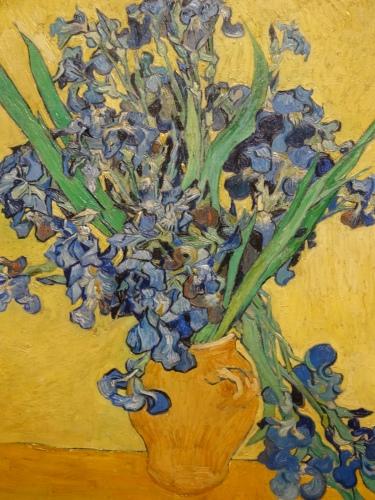 Yellow/blue contrast, Van Gogh.