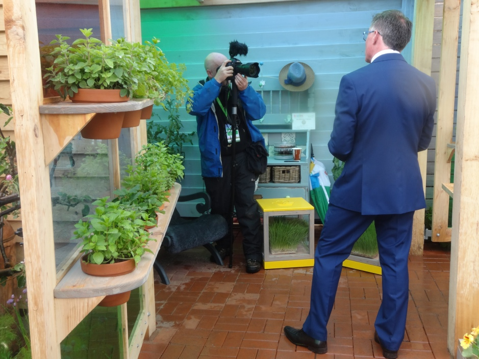 Show organiser Gary Graham is interviewed in The Pantry