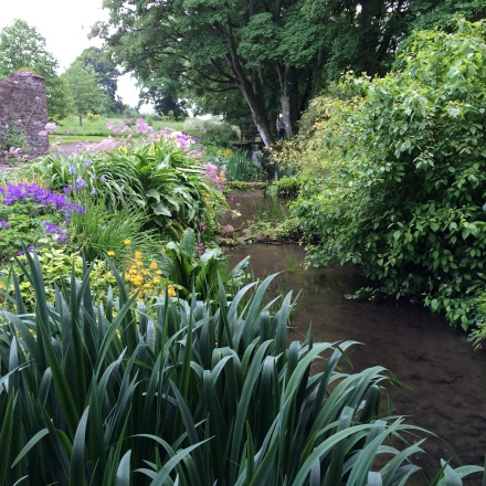 The gardens at Burtown House