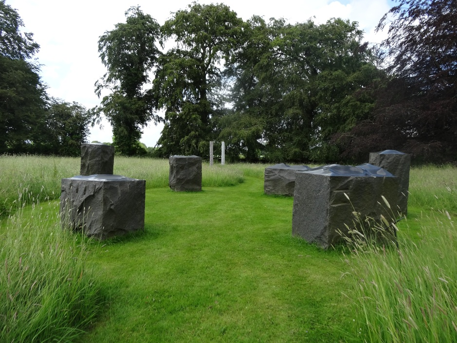 Sculpture meadow, Burtown House