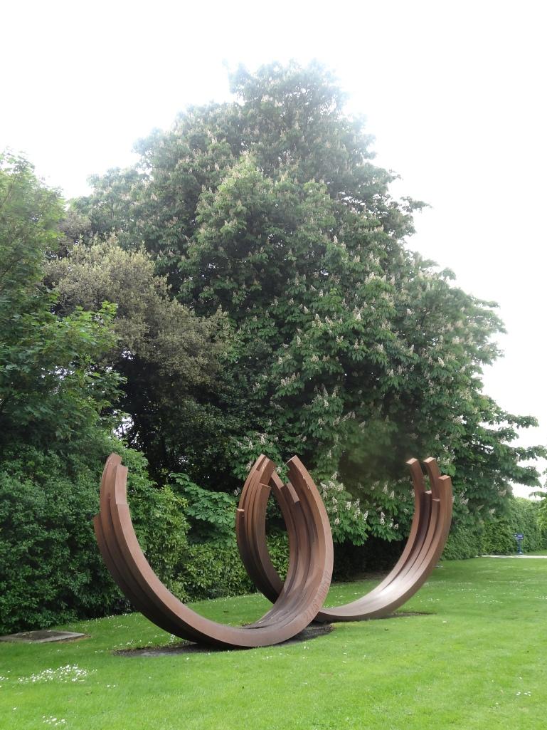 Sculpture by Bernar Venet