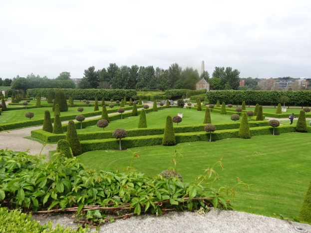 The formal gardens at Kilmainham