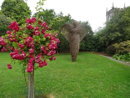 The gardens at Beaulieu House