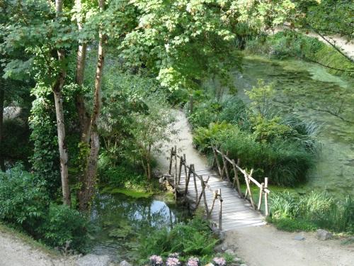 da Vinci's garden at Amboise