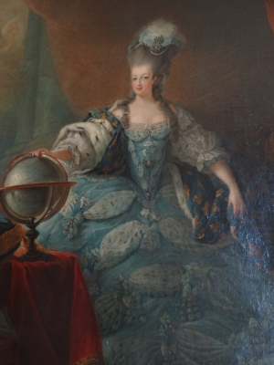 Marie Antoinette, Queen of France.