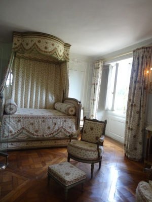 Marie Antoinette's bedroom at Le Petit Trianon