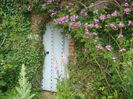 The secret door.