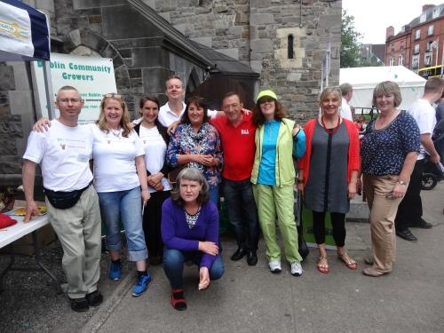 Some members of DCG at Dublin Garden Festival
