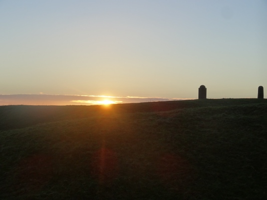 Sunset on the Hill of Tara