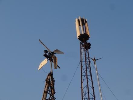 William Kamkwamba's windmills