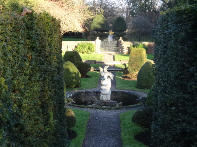The sunken garden, Farmleigh