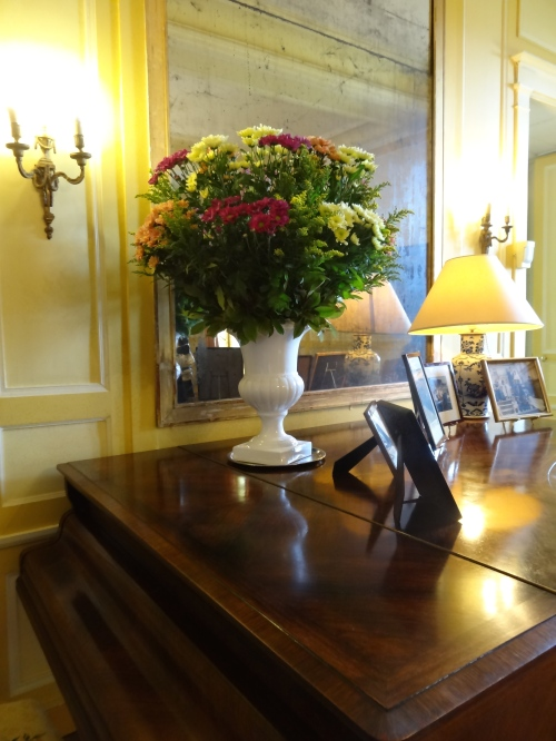 Flowers from the Chateaux