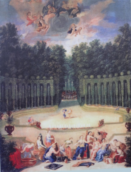 The Water Theatre Grove in the 17th century