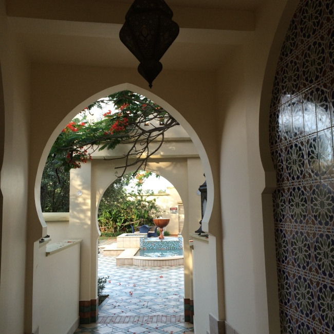 Arab influences at the Spa