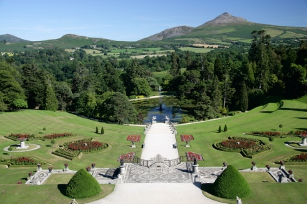 The lovely natural setting of Powerscourt, Ireland, features in the book. Photo : Powerscourt Estate
