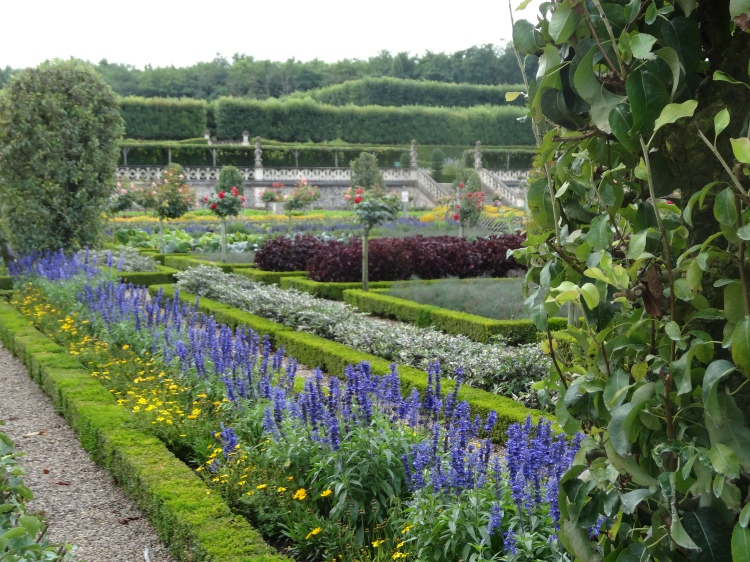 The gardens at Villandry