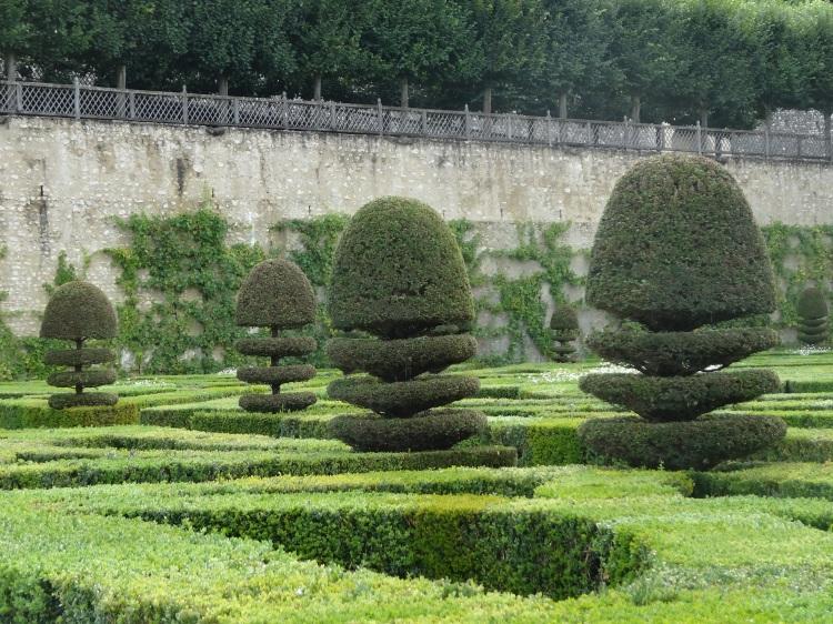 The gardens at Villandry