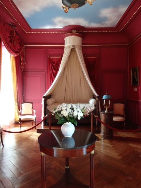 Inside the Château de Villandry