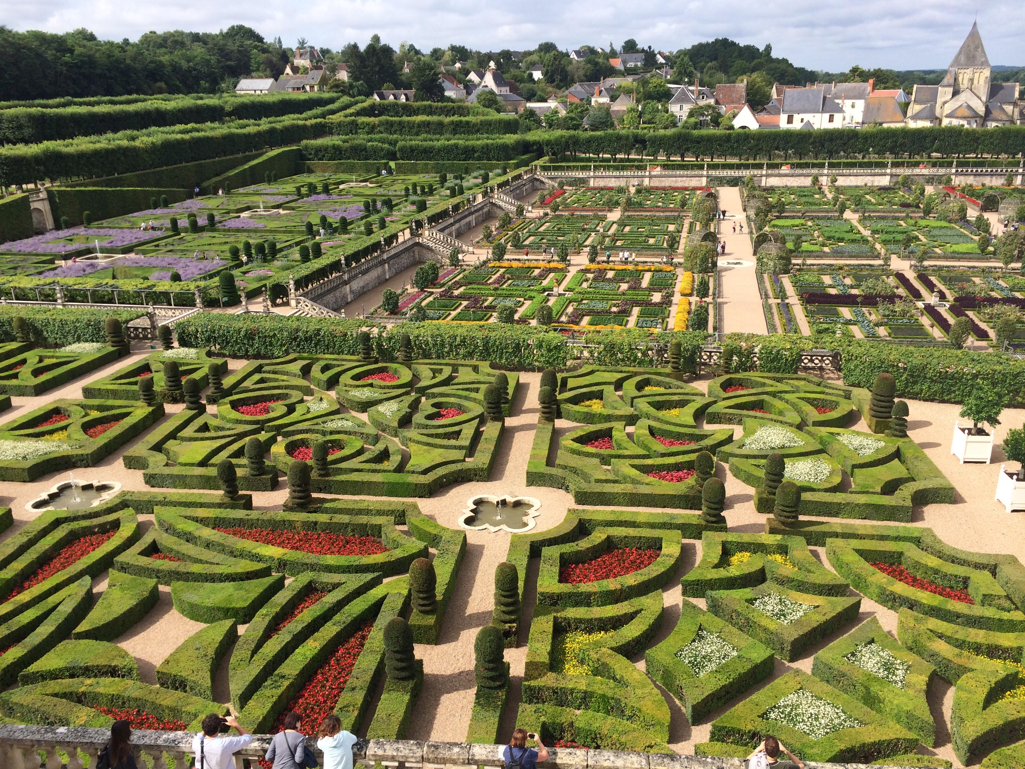 The Iconic Gardens At Villandry Jardin