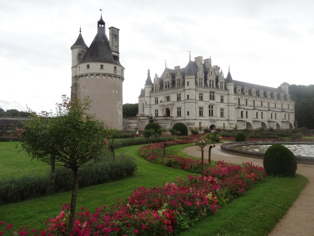 The Chateau seen from Catherine de Medici's garden