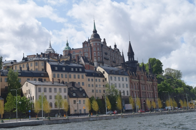 Stockholm, views from the ferry.