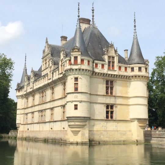 Chateau d'Azay-le-Rideau.