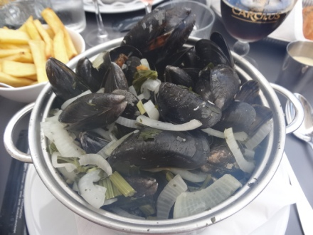Moules, frites and beer - the national dish?
