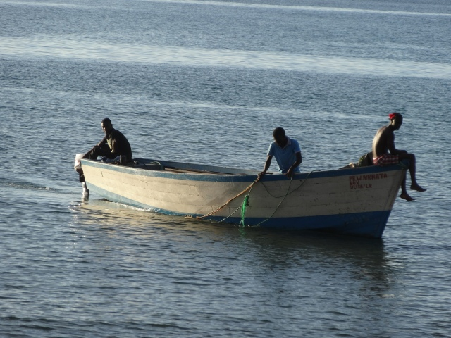 Fishermen on Lake Malawi