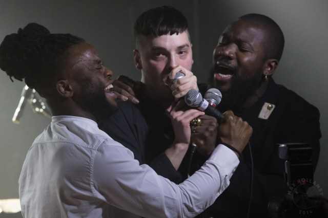 'Young Fathers'. photo credit: Max Hollamby