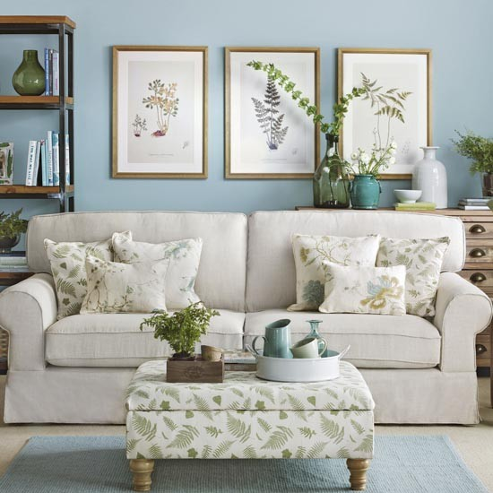 blue-living-room-with-fern-prints-ideal-home-housetohome-co-uk